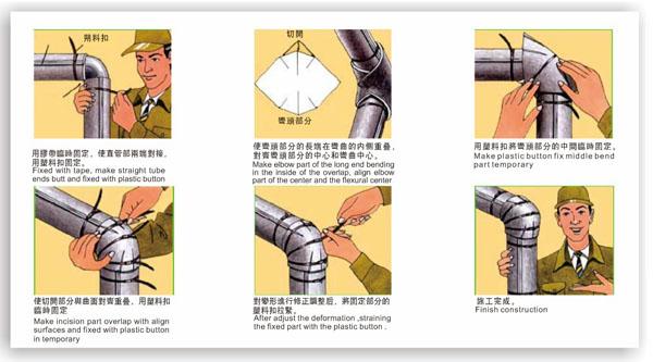 水管噪聲消除方法 Industrial Pipe Application Reference