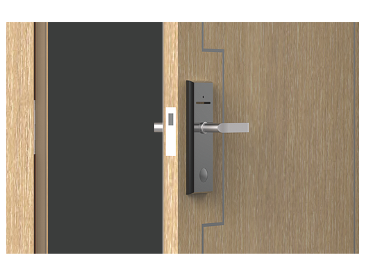 Professional thickened door page